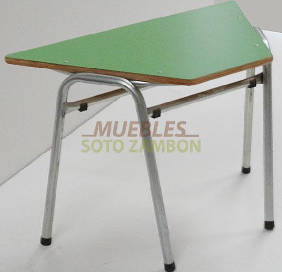 Mesa-Trapecio-Metalica-Sala-Cuna-Parvulo-Kinder